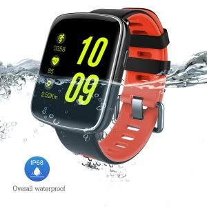 GV68 1.54-inch Waterproof Sports Smart Bluetooth Watch Smart Bracelet for Android IOS - Red