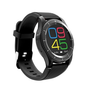 G8 Smart Watch Phone Heart Rate Monitor Call Message Reminder Smart Bracelet Support iOS Android - Black