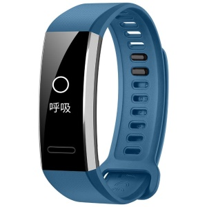 HUAWEI ERS-B29 Fitness Tracker Smart Bracelet Bluetooth 4.2 with Heart Rate Monitor for IOS Android (GPS Version) - Blue