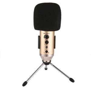 MK-F500TL Cardioid Pattern Professional Condenser Microphone with Tripod Stand