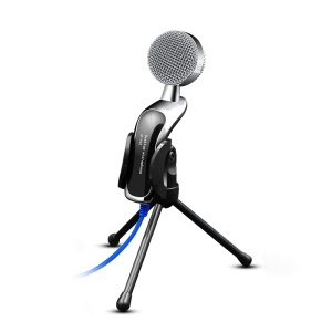 YANMAI SF-922B USB Desktop Microphone with Tripod Stand for Sound Recording, Video Conference, Chatting, Singing