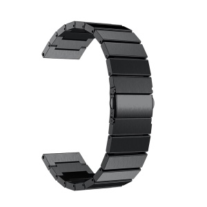 Stainless Steel Replacement Watch Link Band Strap for Garmin Fenix 5S - Black