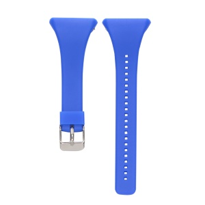 Soft Wrist Watch Silicone Band Replacement for Polar FT4 / FT7 - Blue