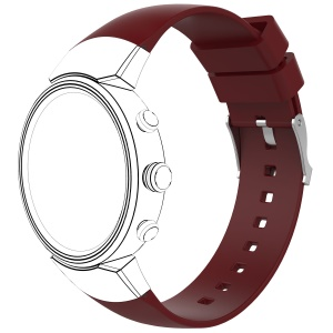 For ASUS ZenWatch 3 Smart Watch Band Strap Replacement Watchband  - Red