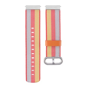 Metal Buckle Nylon Watch Band for Samsung Gear S2 Classic/Pebble Time Round/Motorola Moto 360/LG Watch etc. - Orange