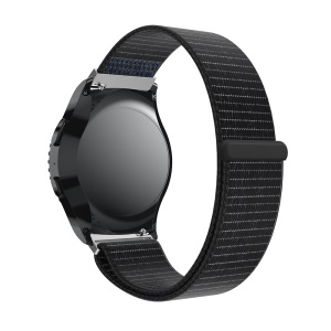 Nylon Velcro Closure Watch Band Replacement for Samsung Gear S2 - Black