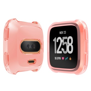 Soft Protective TPU Case Accessory for Fitbit Versa - Pink