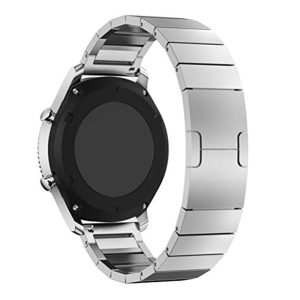 Steel Wristband Watch Strap Band for Samsung Gear S3 Frontier / S3 Classic - Silver
