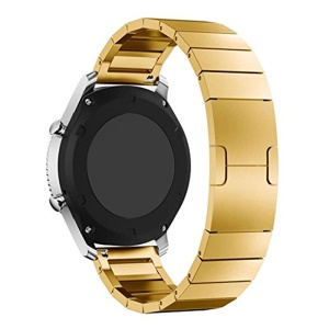 Steel Wristband Watch Band Replacement for Samsung Gear S3 Frontier / S3 Classic - Gold