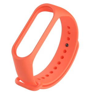 XIAOMI Soft TPU Wrist Band Strap Replacement for Xiaomi Mi Band 3 - Orange