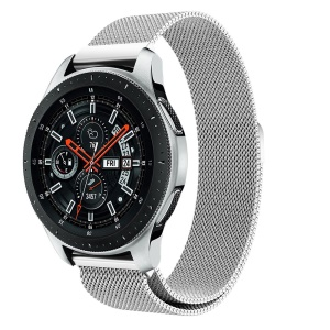 Milanese Stainless Steel Magnetic Watchband Replacement for Samsung Galaxy Watch 46mm - Silver
