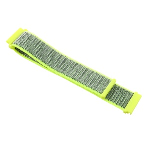 Velcro Closure Nylon Watch Strap Replacement for Samsung Galaxy Watch 46mm / Huami Amazfit Watch - Green