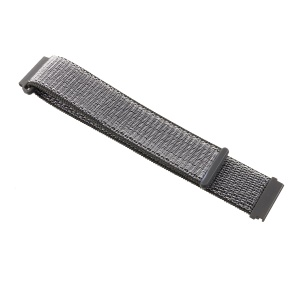 Closure Nylon Watch Strap for Samsung Galaxy Watch 46mm / Huami Amazfit Watch - Grey