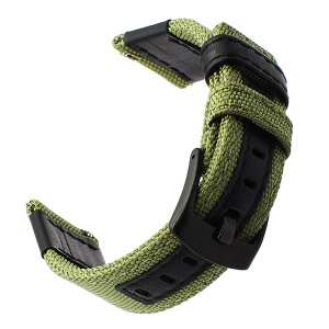 Nylon Smart Watchband Strap Replacement for Huawei Watch GT - Green