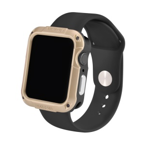 Shock-resistant SGP Smart Watch Case for Apple Watch Series 4 44mm - Gold