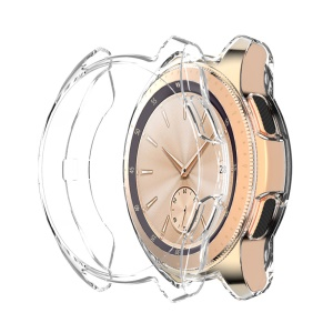 Clear All-wrapped TPU Protector Watch Case Cover for Samsung Galaxy Watch 46mm