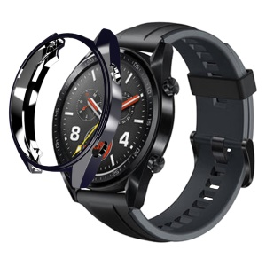 For Huawei Watch GT All-wrapped Plated TPU Protector Case - Black
