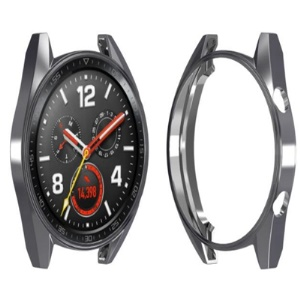 For Huawei Watch GT All-wrapped Plated TPU Protector Case - Grey