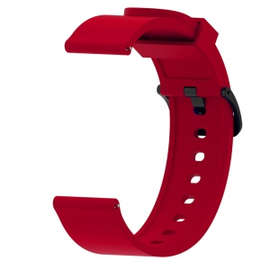 20mm Soft Silicon Watch Band for Amazfit Bip Smart Watch - Red