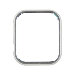 Shock Drop Protector Aluminum Alloy Smart Watch Case for Apple Watch Series 4 40mm - Silver