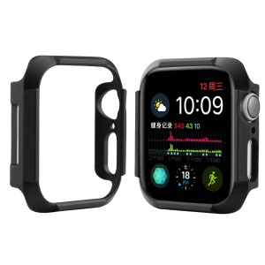 Shock Drop Protector PC Smart Watch Case for Apple Watch Series 4 40mm - Black