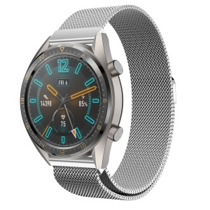 Milanese Stainless Steel Reticular Watch Band for Huawei Watch GT 22mm - Silver