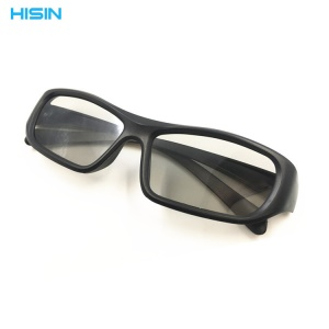 HISIN 3D Cinema Glasses Movie Theater Passive TVs 3D Glasses