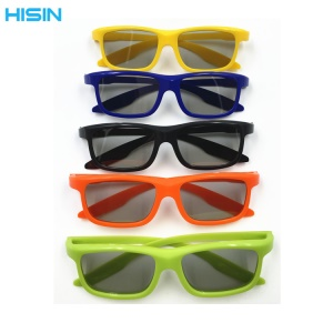 3D Cinema Glasses Movie Theater Passive TVs 3D Glasses Lightweight 3D Glasses - Random Color