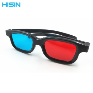 Universelle Passive 3D-Brille Für Kinofilm / Home-TV / Gaming - Rot / Blau