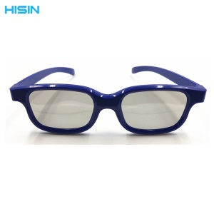 3D Cinema Glasses 3D Movie Theater Passive TVs Glasses - Blue