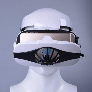 Fiit 5F Helm 3D VR Brille Virtual-Reality-Headset Für Smartphone-Brille Google Smartphone Android 3D-Objektiv