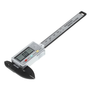 Carbon Fiber Composite Digital LCD Vernier Caliper 4-inch/100mm Measurement Tool