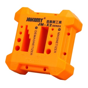 JAKEMY JM-X2 Magnetizer Demagnetizer for Screwdriver Tips and Other Components
