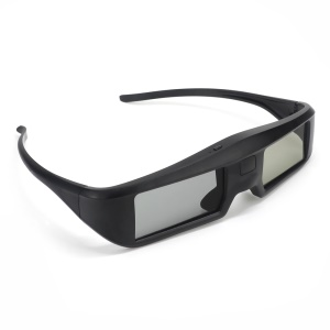 GONBES G06BT 3D Active Shutter Glasses Virtual Reality Glasses Bluetooth Signal for 3D HDTV - Black
