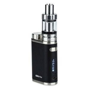 Mini 75W Electronic Cigarette MOD Temperature Control OLED E-cigarette - Black