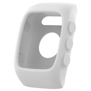 Anti-aging Soft Silicone Protective Cover for Polar M400 M430 - White