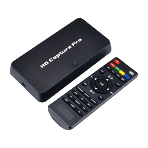 HD Video Capture Pro 1080P Recorder USB Playback Capture Card with Remote Control - EU Plug