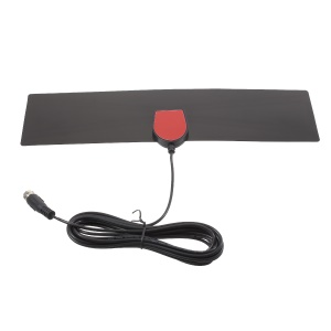 HD Digital Indoor 50 Miles Range HD TV Antenna with Cable Flat Design 28dB Gain