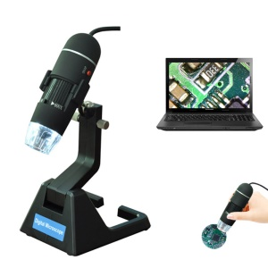 Digital Microscope USB Endoscope 25X-600X Magnification 8-LED Mini Camera for Mac Window Android