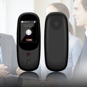 T6 Smart Voice Real-time Intelligent Translator 41 Multi-languages Support with Touch Screen Wifi 4G - US Plug