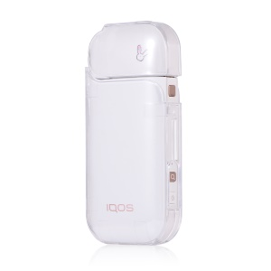Clear Transparent Hard PC Shell for IQOS 2.0/2.4 Electronic Cigarette - Transparent