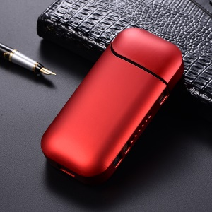 Hard PC Glossy Protection Shell for IQOS 2.0/2.4 Electronic Cigarette - Red