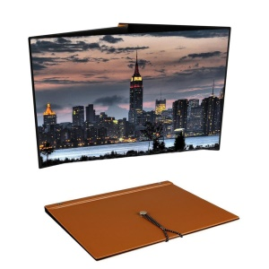 Book Design White Soft Screen 20 Inch 4:3 DLP Mini Projector Screen
