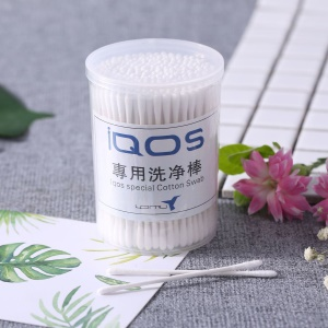 Cleaning Cotton Swab for IQOS Electronic Cigarette