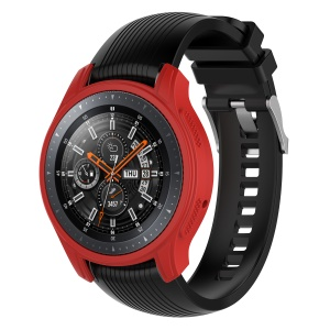 Silicone Smart Watch Protective Shell for Samsung Gear S3 Frontier / Galaxy Watch 46mm - Red