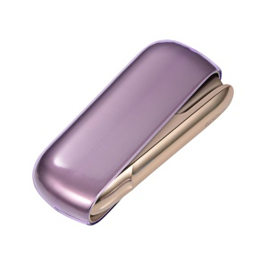 Transparent Soft TPU Protective Shell for IQOS 3.0 Electronic Cigarette - Purple