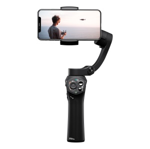 SNOPPA Atom 3-Axis Foldable Gimbal for Smartphone / Wireless Charging / Built-in Mic Jack - Black