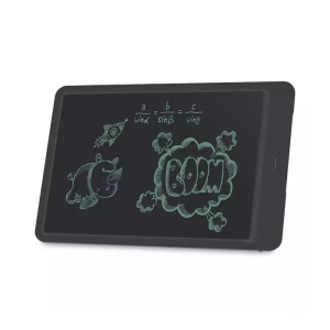 10 inch LCD Writing Tablet Handwriting Drawing Pad with Stylus - Black