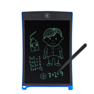 12 inch LCD Writing Board Drawing Tablet Handwriting Graphics Pad with Stylus - Blue