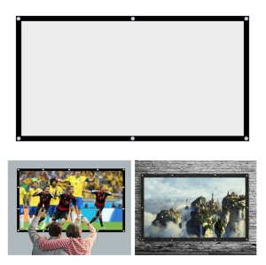 150 inch Washable Non Yellowing Movie Projector Canvas Screen for Home Bar Hotel Etc. Use